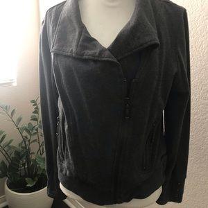 Super Cute asymmetrical jacket Grey $15